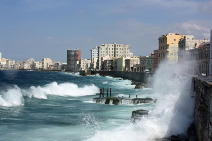 Havana Malecón (our homes are one block from this beautiful pedestrian walkway