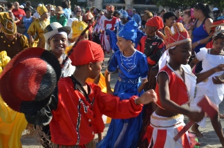 Cuban Music and Dance, Street Procession
