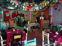 Our home in Havana, Covered patio for meals